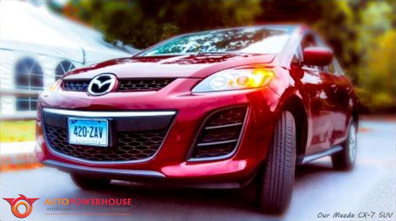 mazda-cx7-suv-turbocharger-problems-faults
