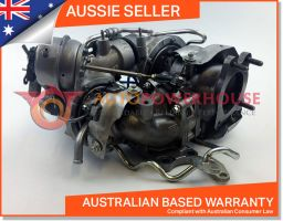 Mazda CX-5 GT1752S & GT1238Z (Genuine OEM) BiTDI Twin Turbocharger