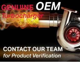Genuine OEM Turbocharger