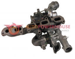 VW T5 Transporter - Voxx Reconditioned Genuine Twin Turbocharger